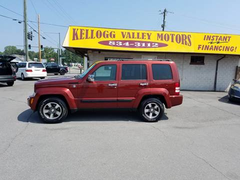 2008 Jeep Liberty for sale at Kellogg Valley Motors in Gravel Ridge AR