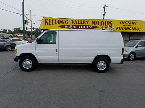 2002 Ford E-Series Cargo for sale at Kellogg Valley Motors in Gravel Ridge AR