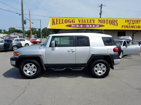 2008 Toyota FJ Cruiser for sale at Kellogg Valley Motors in Gravel Ridge AR