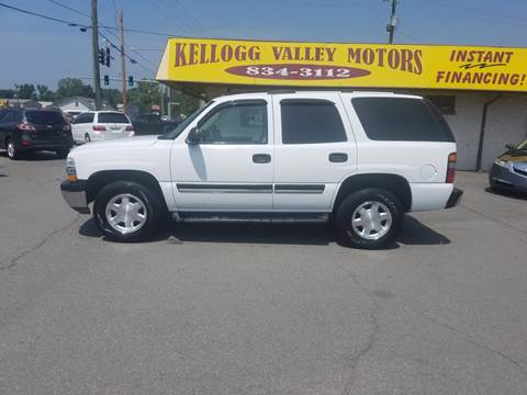 2005 Chevrolet Tahoe for sale at Kellogg Valley Motors in Gravel Ridge AR