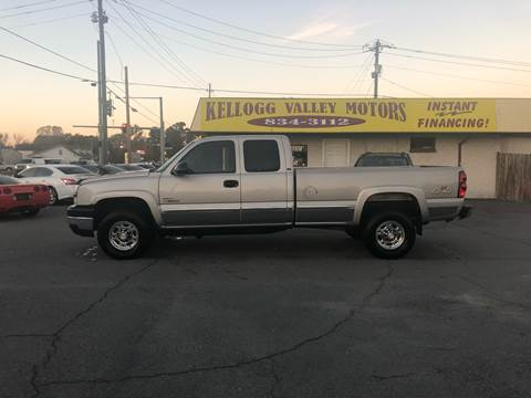 2004 Chevrolet Silverado 3500 for sale at Kellogg Valley Motors in Gravel Ridge AR