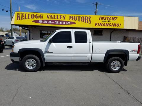 2003 Chevrolet Silverado 2500HD for sale at Kellogg Valley Motors in Gravel Ridge AR
