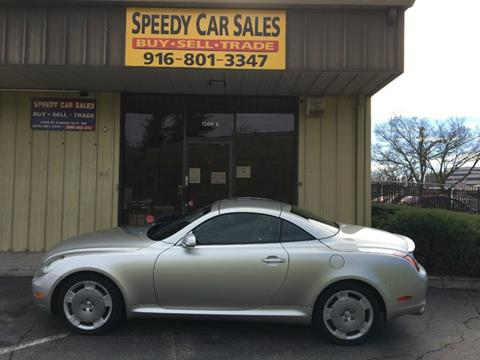 2002 Lexus SC 430 for sale in Sacramento, CA
