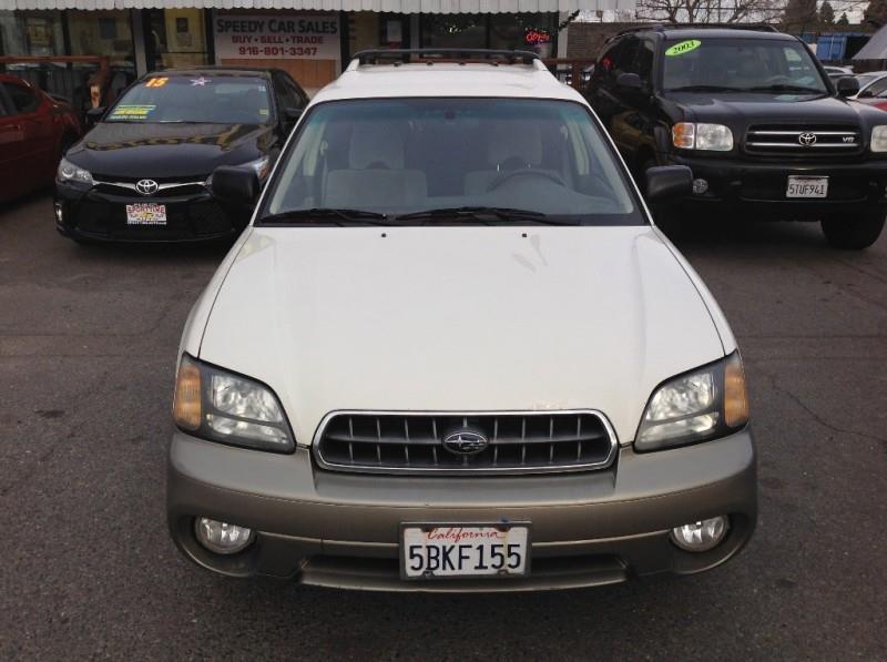 2003 Subaru Outback Awd 4dr Wagon In Sacramento Ca Speedy Car Sales