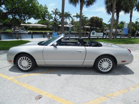 2005 ford thunderbird for sale in florida. Black Bedroom Furniture Sets. Home Design Ideas