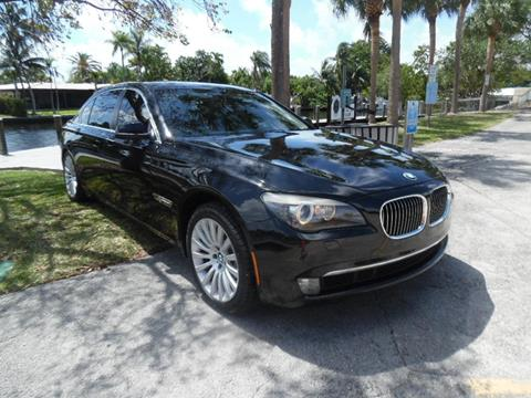 BMW Fort Lauderdale >> 2012 Bmw 7 Series For Sale In Wilton Manors Fl