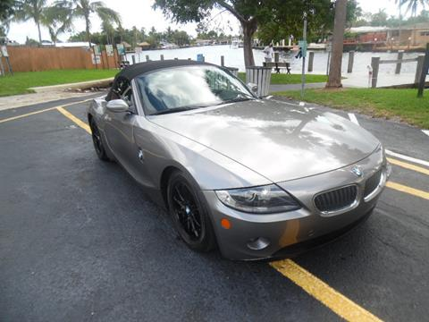 BMW Fort Lauderdale >> 2005 Bmw Z4 For Sale In Wilton Manors Fl