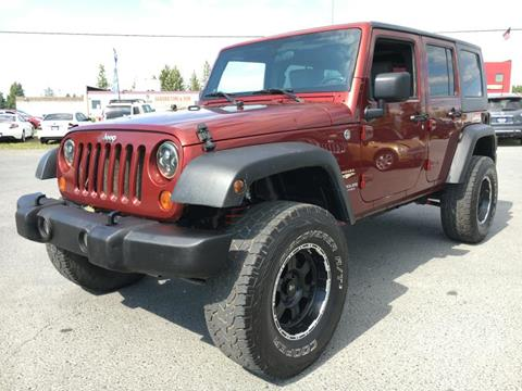2007 Jeep Wrangler Unlimited for sale in Anchorage, AK