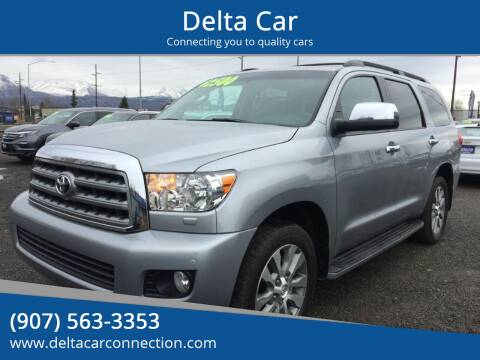 2016 Toyota Sequoia Limited for sale at Delta Car in Anchorage AK