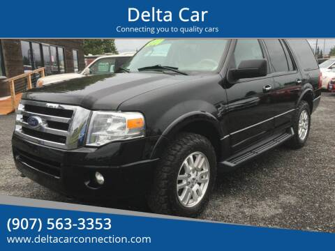 2012 Ford Expedition XLT for sale at Delta Car in Anchorage AK