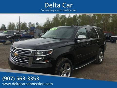 2018 Chevrolet Tahoe Premier for sale at Delta Car in Anchorage AK