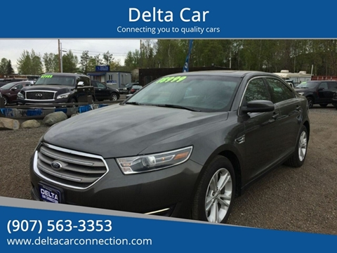 2015 Ford Taurus SEL for sale at Delta Car in Anchorage AK