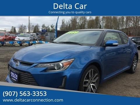 2016 Scion tC for sale at Delta Car in Anchorage AK