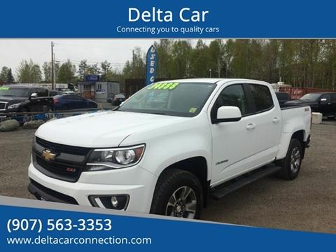 2018 Chevrolet Colorado for sale at Delta Car in Anchorage AK