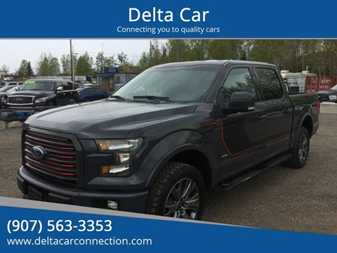 2016 Ford F-150 for sale at Delta Car in Anchorage AK