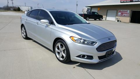 2013 Ford Fusion for sale in Wright City, MO