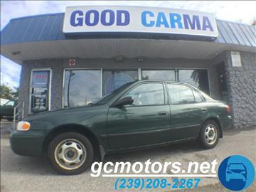 2000 Chevrolet Prizm for sale in Fort Myers, FL
