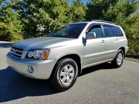2003 Toyota Highlander for sale in Plaistow, NH