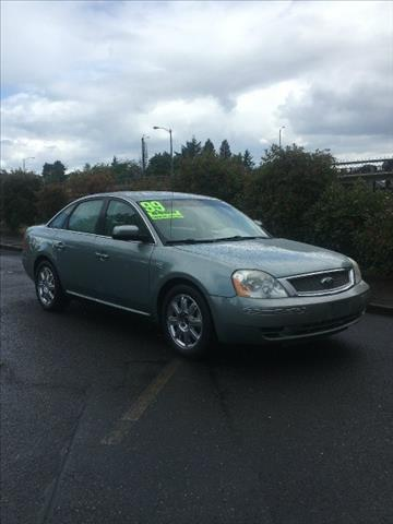 2007 Ford Five Hundred for sale in Portland, OR