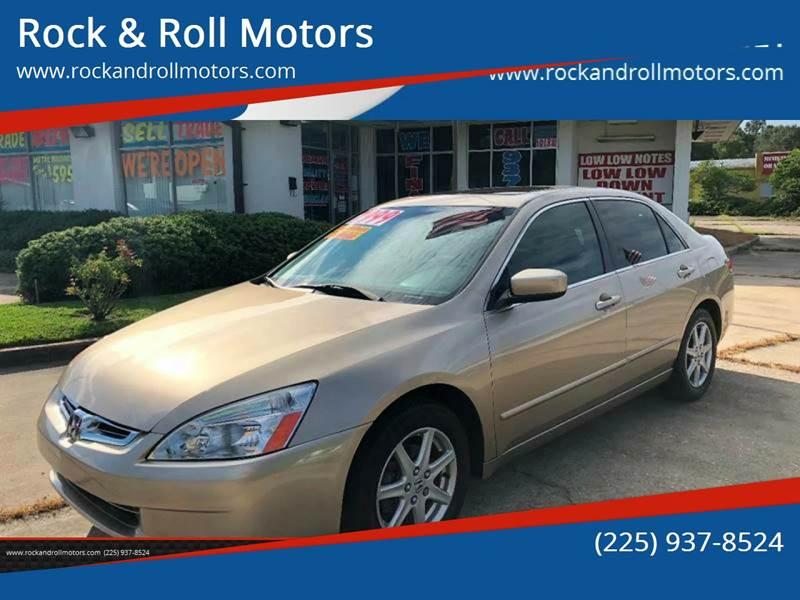 2004 Honda Accord For Sale At Rock U0026 Roll Motors In Baton Rouge LA