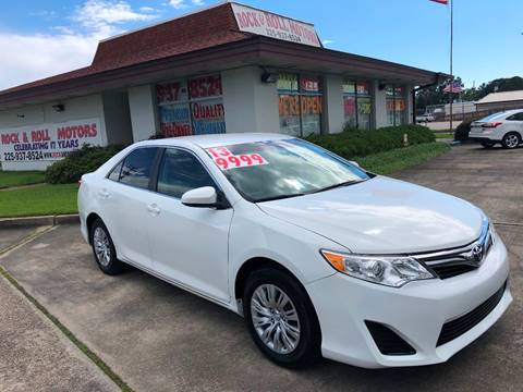 Toyota Camry Used >> 2013 Toyota Camry For Sale In Baton Rouge La