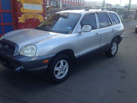2004 Hyundai Santa Fe for sale at O A Auto Sale in Paterson NJ