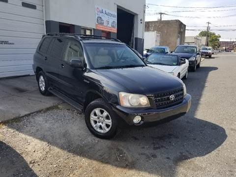 2003 Toyota Highlander for sale at O A Auto Sale - O & A Auto Sale in Paterson NJ