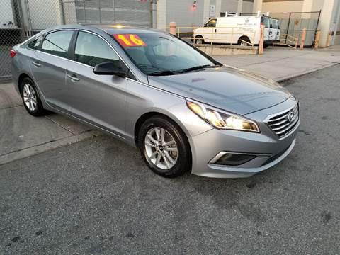 2016 Hyundai Sonata for sale at O A Auto Sale - O & A Auto Sale in Paterson NJ