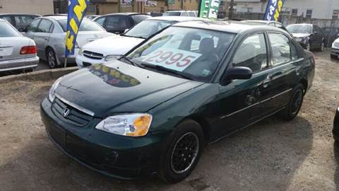 2001 Honda Civic for sale at O A Auto Sale in Paterson NJ