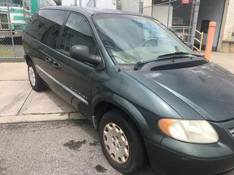 2001 Chrysler Voyager for sale at O A Auto Sale in Paterson NJ
