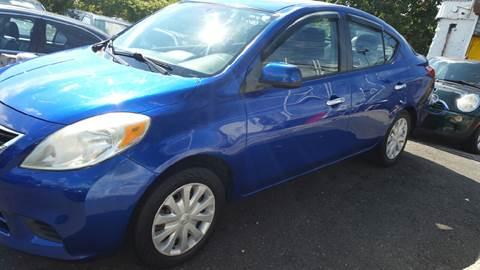 2012 Nissan Versa for sale at O A Auto Sale - O & A Auto Sale in Paterson NJ