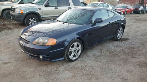 2004 Hyundai Tiburon for sale at O A Auto Sale - O & A Auto Sale in Paterson NJ