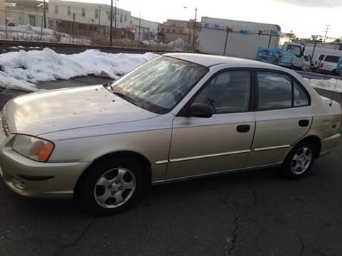 2002 Hyundai Accent for sale at O A Auto Sale in Paterson NJ