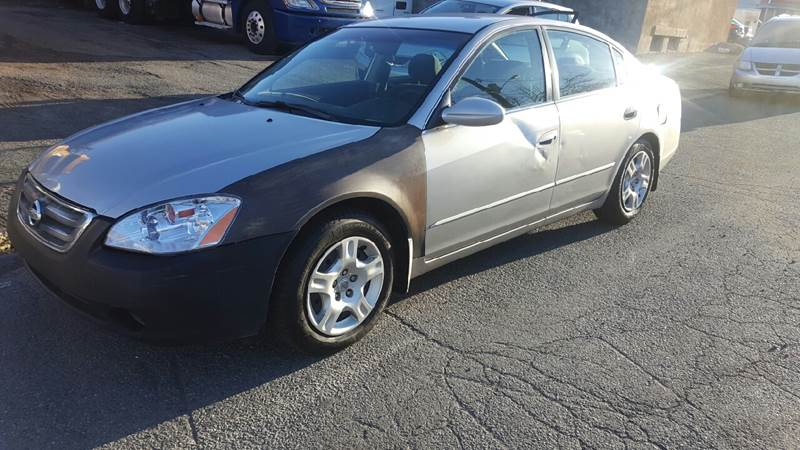 2002 Nissan Altima 2.5 S 4dr Sedan   Paterson NJ