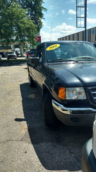 2001 Ford Ranger 2dr SuperCab XLT 2WD Styleside SB w/ Appearance Package - Peoria IL