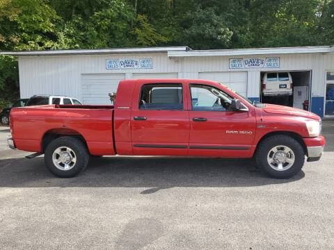 2006 Dodge Ram Pickup 1500 for sale at Dave's Garage & Auto Sales in East Peoria IL