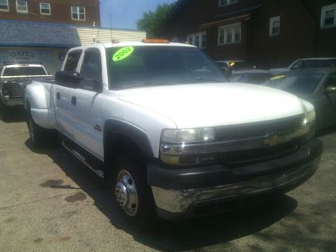 2002 Chevrolet Silverado 3500 for sale at Dave's Garage & Auto Sales in East Peoria IL