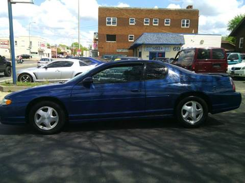 2003 Chevrolet Monte Carlo for sale at Dave's Garage & Auto Sales in East Peoria IL