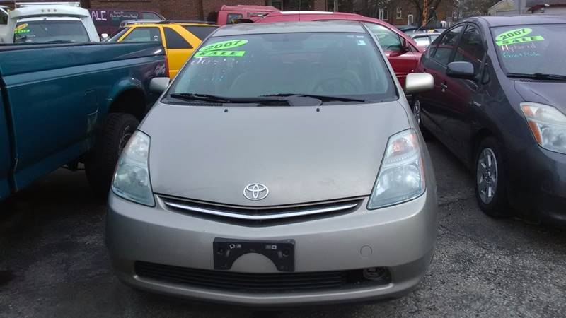 2007 toyota prius touring 4dr hatchback in peoria il dave 39 s garage auto sales. Black Bedroom Furniture Sets. Home Design Ideas