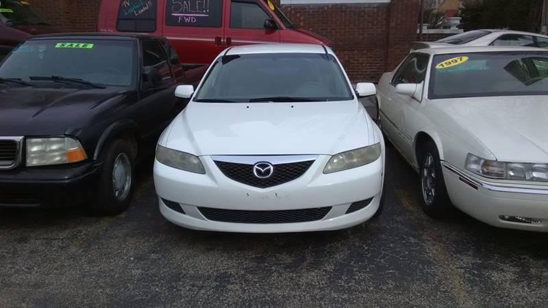 2004 Mazda MAZDA6 for sale at Dave's Garage & Auto Sales in East Peoria IL