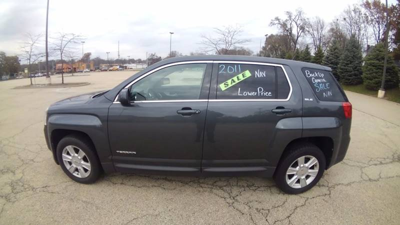 2011 GMC Terrain for sale at Dave's Garage & Auto Sales in East Peoria IL