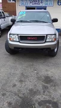 2001 GMC Sonoma for sale in Peoria, IL