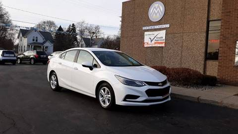 2017 Chevrolet Cruze LT Auto for sale at Mighty Motors in Adrian MI