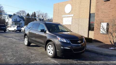 2017 Chevrolet Traverse LS for sale at Mighty Motors in Adrian MI