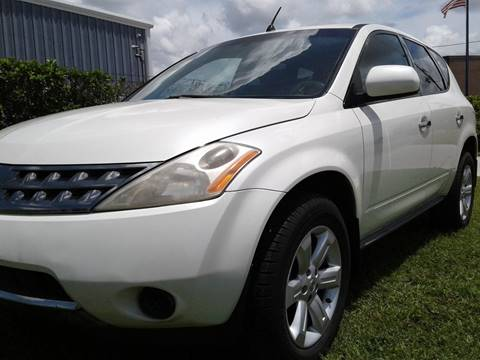 2007 Nissan Murano for sale at Affordable Auto in Ocoee FL