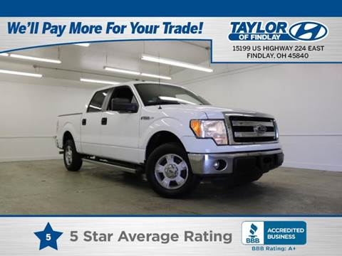 2014 Ford F-150 for sale in Findlay, OH