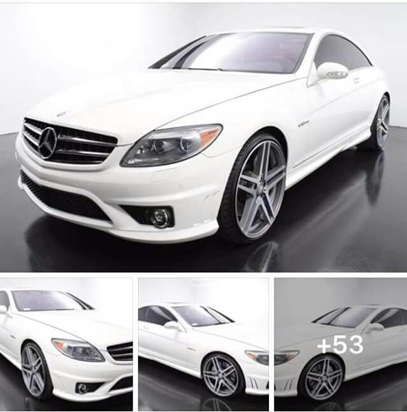 2008 Mercedes Benz Cl Class Cl 63 Amg 2dr Coupe In