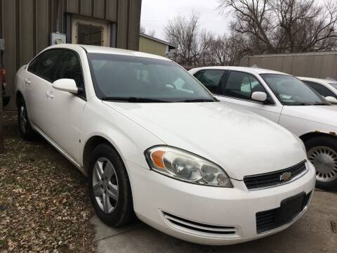 2008 Chevrolet Impala LS for sale at Miller Motors in Rossville KS