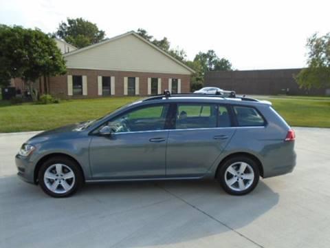 2015 Volkswagen Golf SportWagen for sale in Warrensville Heights, OH