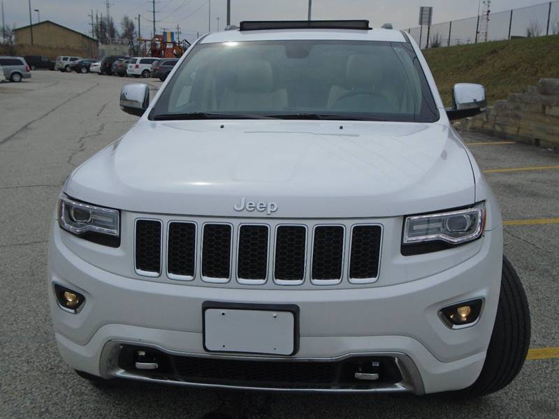 2014 Jeep Grand Cherokee 4x4 Overland 4dr SUV - Warrensville Heights OH